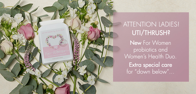 Attention Ladies! new fo women probiotics and women's health duo - 20% OFF!