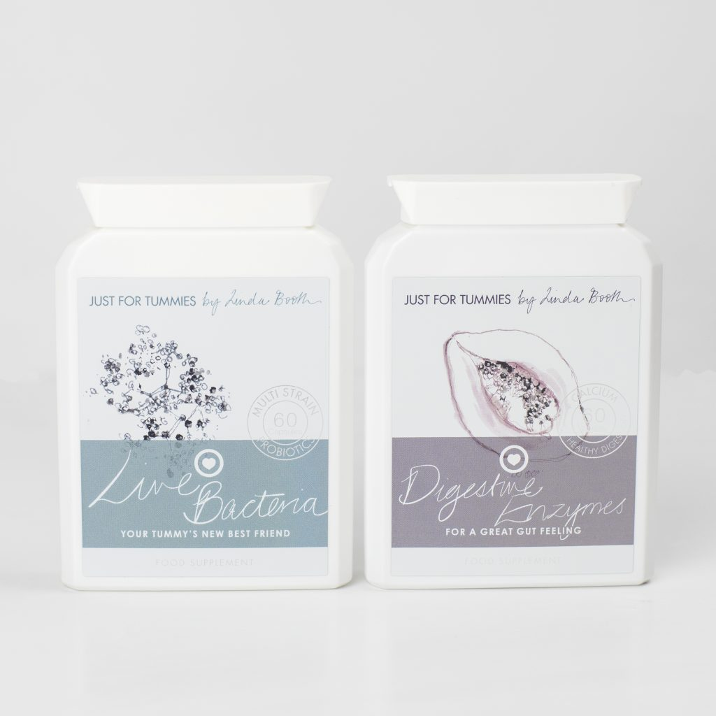 Live Bacteria probiotics and Digestive Enzymes