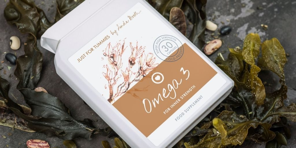 Omega-3 fish oils supplement by Just for Tummies