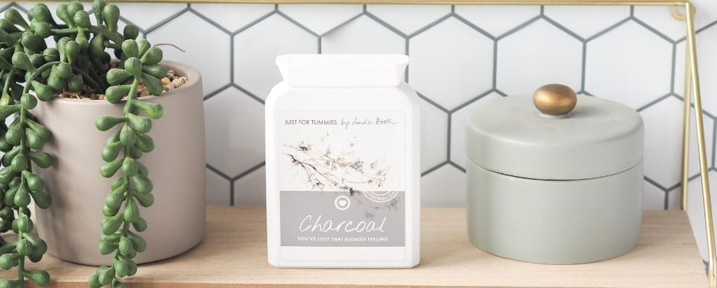 Christmas survival guide blog - charcoal stops bloating