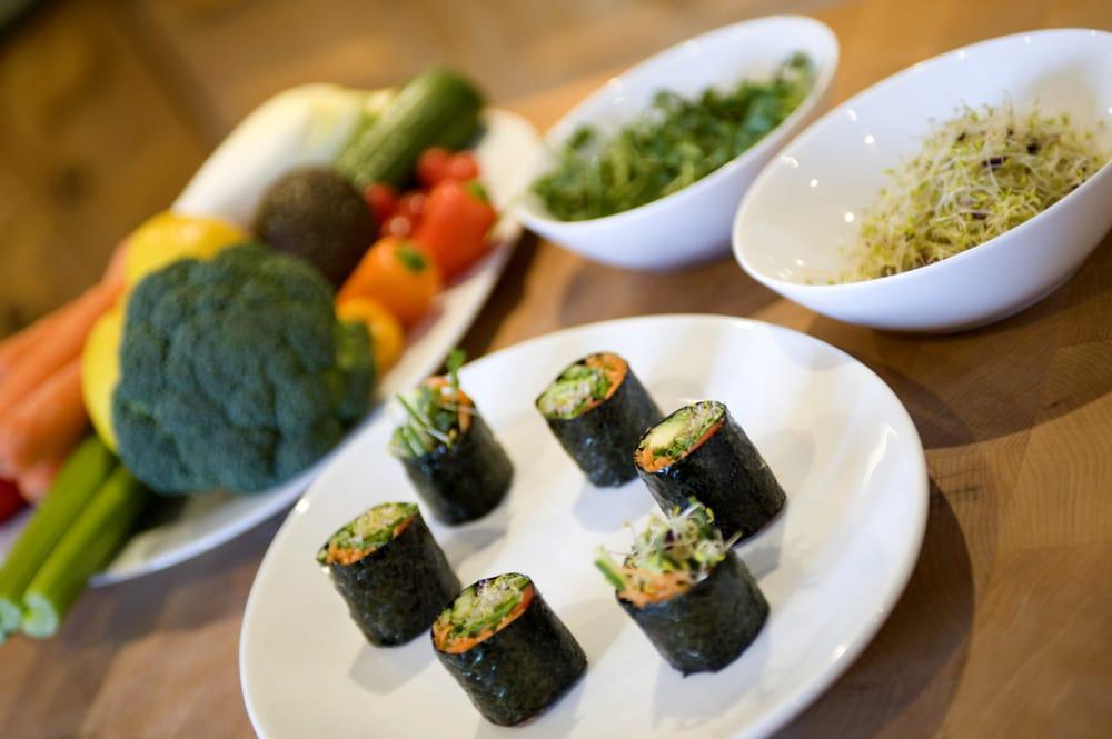 Homefield Grange Retreat - raw sushi