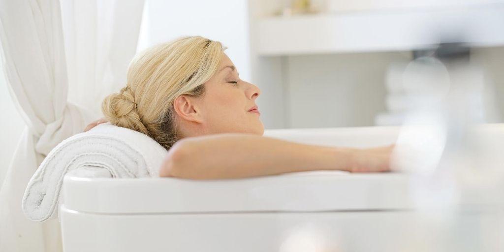 Epsom bath image
