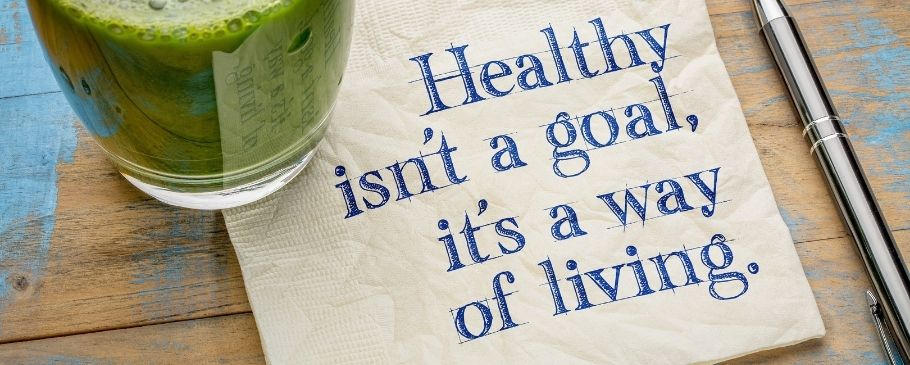 Healthy isnt a goal