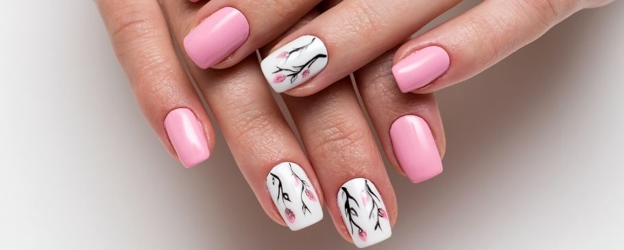 Manicure to reduce stress
