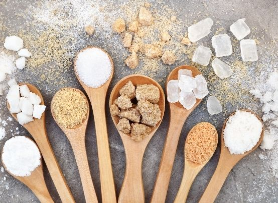 Sugar - excess sugar causes a fatty liver