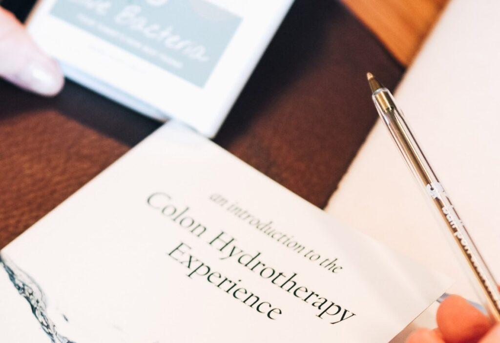 Colon hydrotherapy book